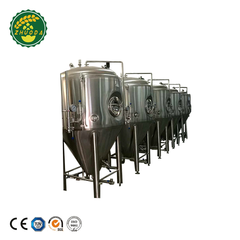 Large Fermentation Tanks Stocks Conical Electronic Steam