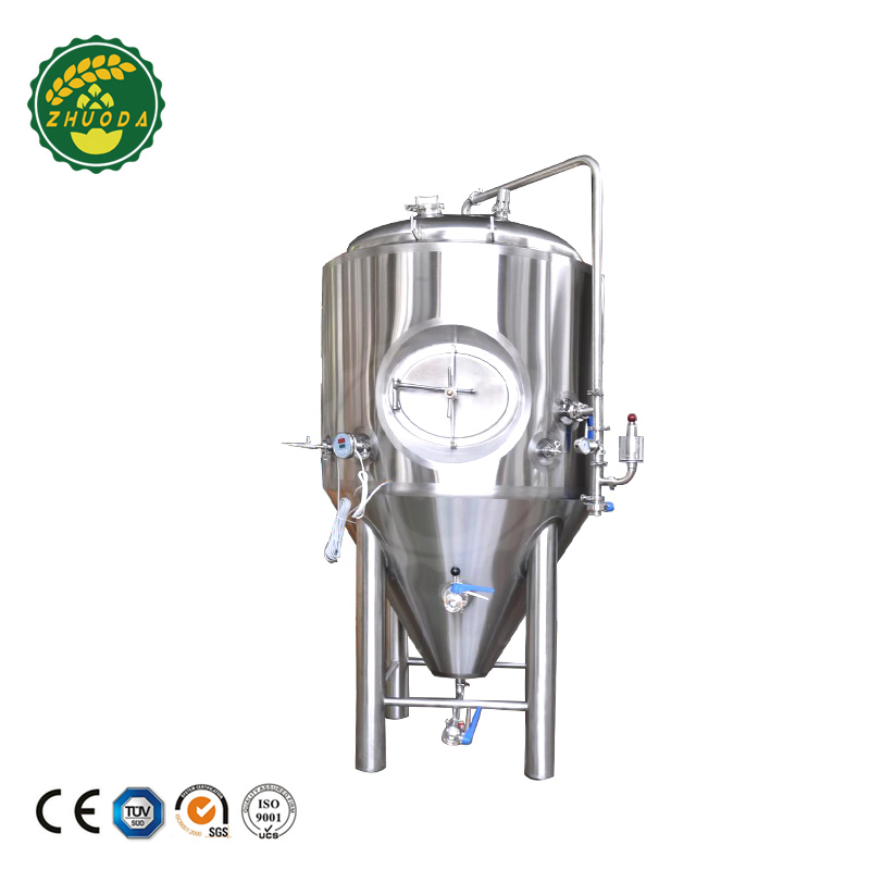 Double wall stainless steel fermentation tanks, beer fermenter price