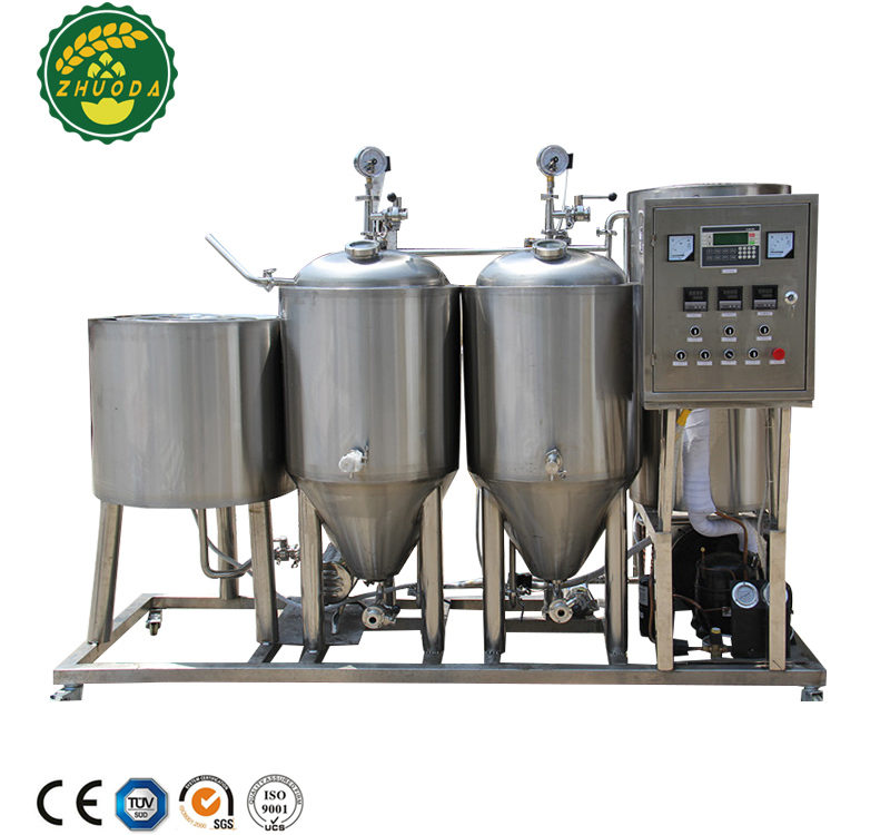 50L 100L home beer brewing systems beer recipes testing machine