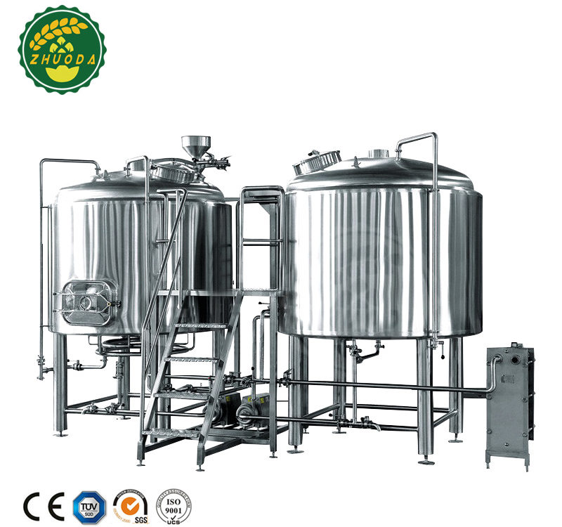 500l alcohol brewing equipment for micro brewery to brew cider