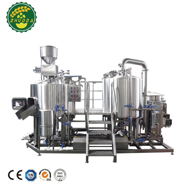 Micro Commercial Restaurant Beer Brewing Equipment