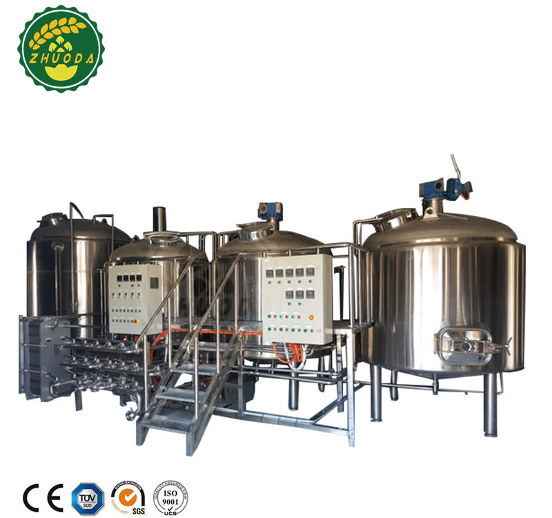 Micro hotel/bar/pub draft red copper beer brewing equipment micro brewery equipment