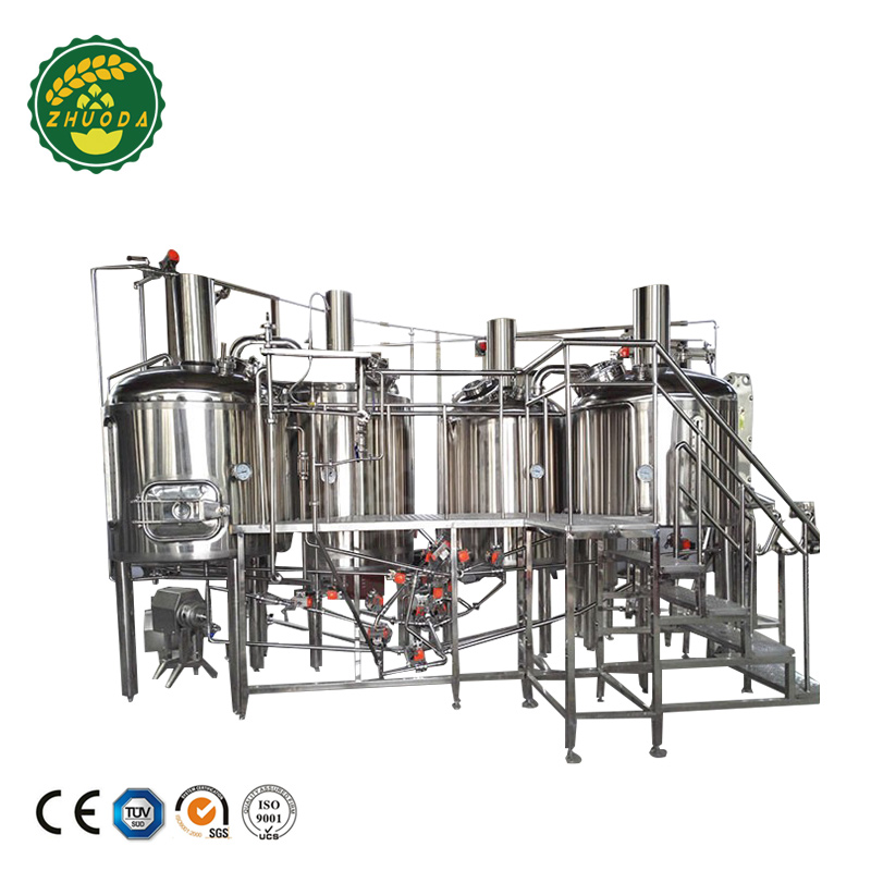 2000L steam customized beer brewery equipment microbrewery system brewing machine