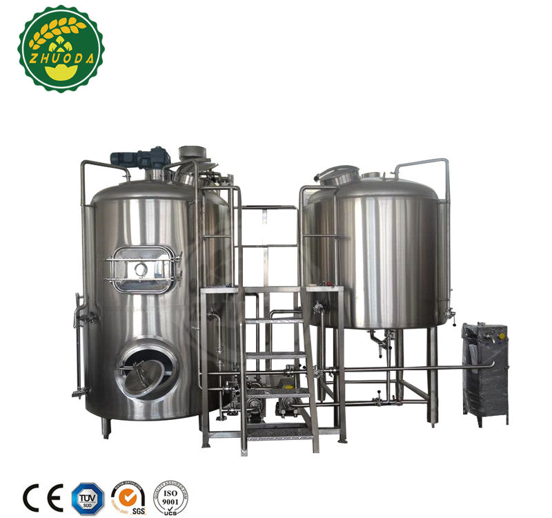 Steam/Electric heated brewing equipment micro brewery for sale