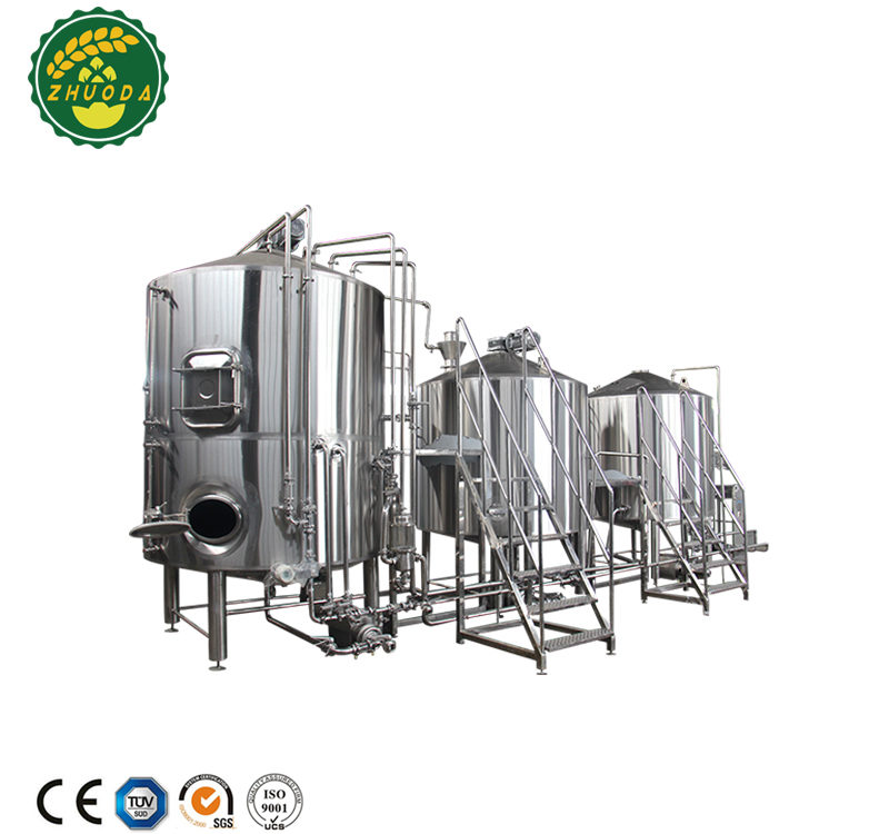 micro beer fermenting equipment new condition craft beer brewery equipment