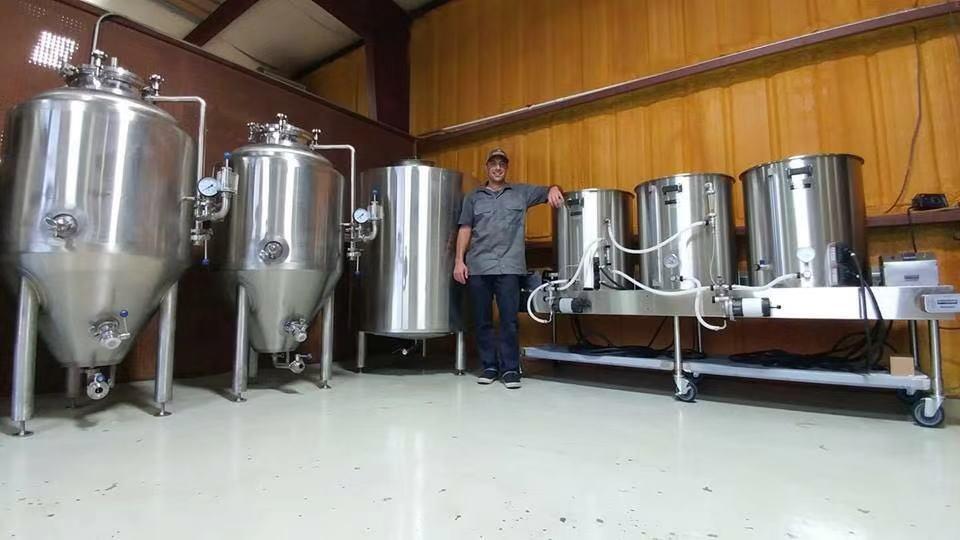 2bbl fermenter tank