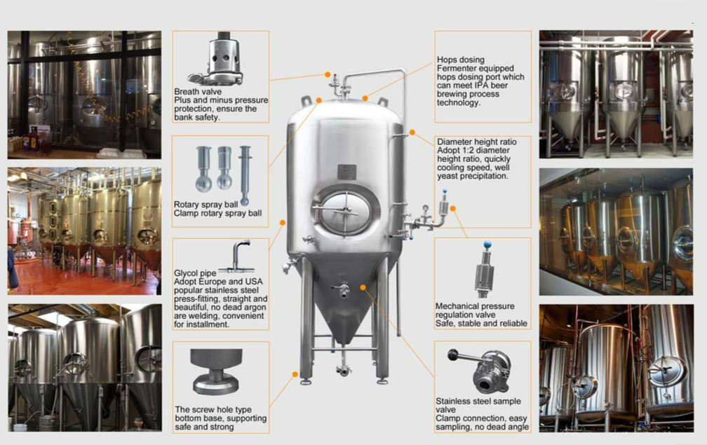 Beer Fermentation Equipment Jinan Zhuoda Machinery